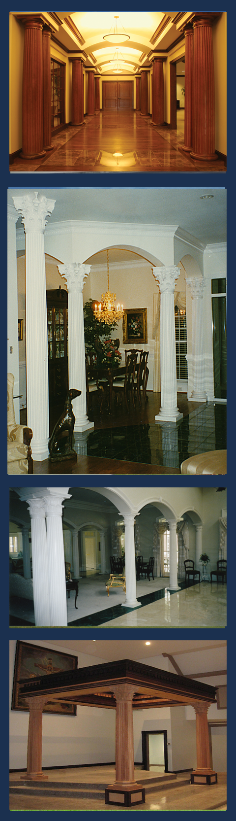 Wood Column Covers